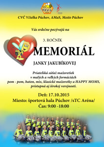 Plagat Memorial J 2015
